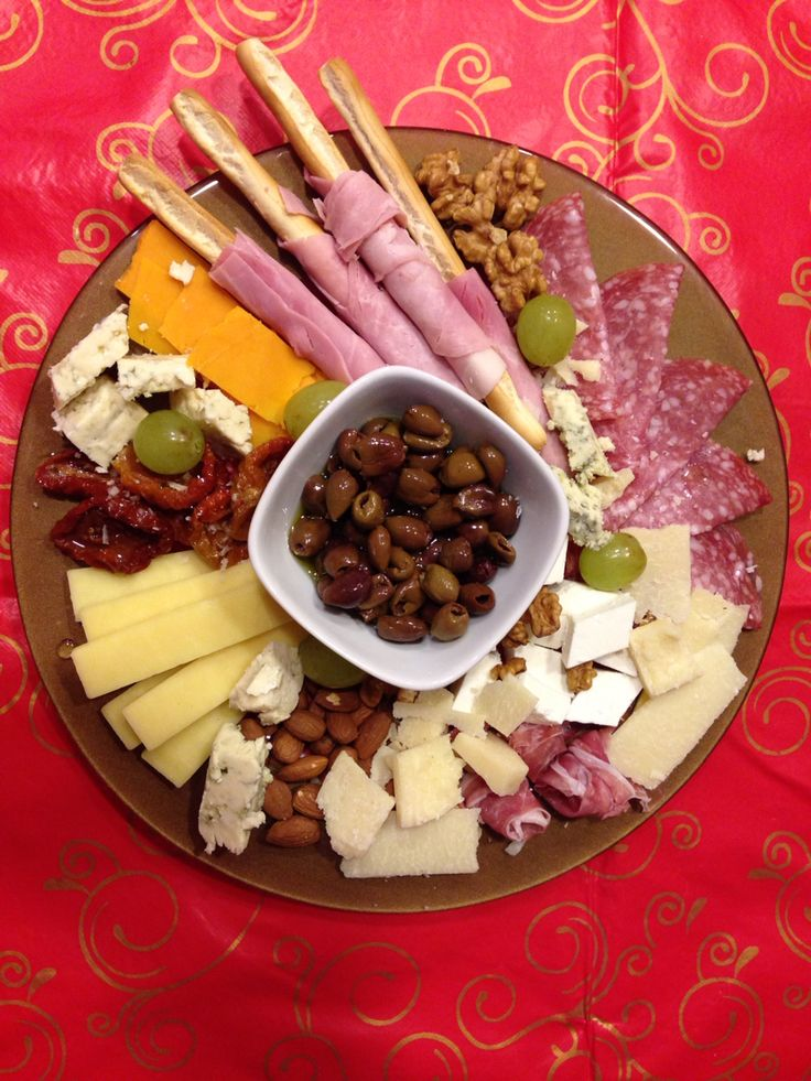 ... cheese and cold cuts platter. Perfect for Christmas or any party. MM