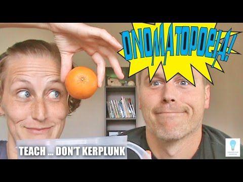 Teaching Onomatopoeias - How to Not Kerplunk the Topic (Episode 51) - YouTube