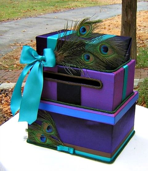 DIY Wedding Card Box « David Tutera Wedding Blog • It's a Bride's Life • Real Brides Blogging til I do!