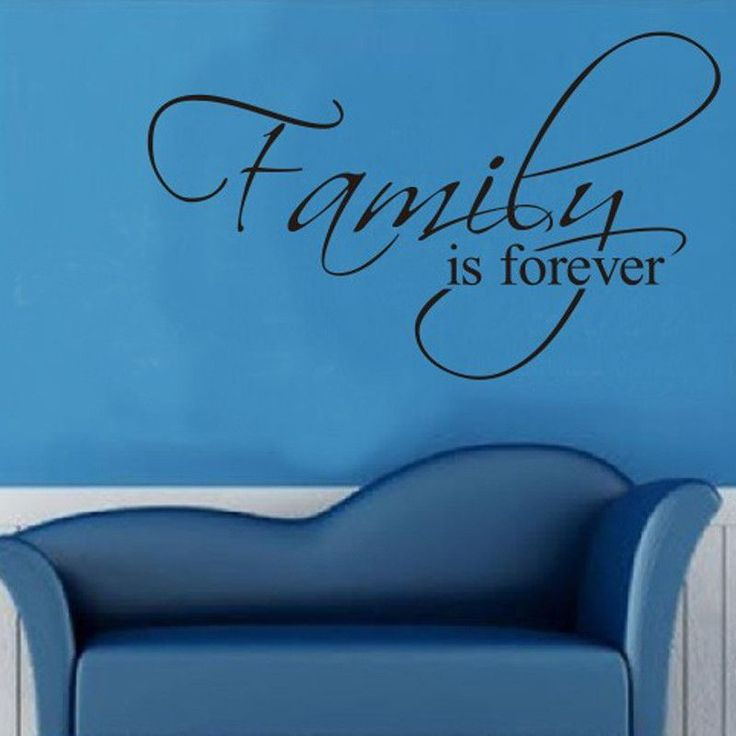 12PC Choose Family Quote Wall Decal Art Words Wall Sticker Quotes Home  Decoration Part 84