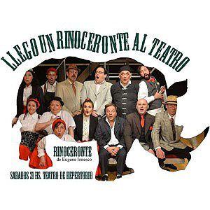 Rinoceronte - Teatro del Repertorio - ***  Director Roberto Aguirre