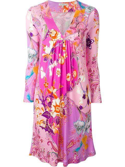 Shoppen Etro Gerafftes Kleid mit Paisley-Print von Apropos The Concept Store aus den weltbesten Boutiquen bei farfetch.com/de. In 300 Boutiquen an einer Adresse shoppen.