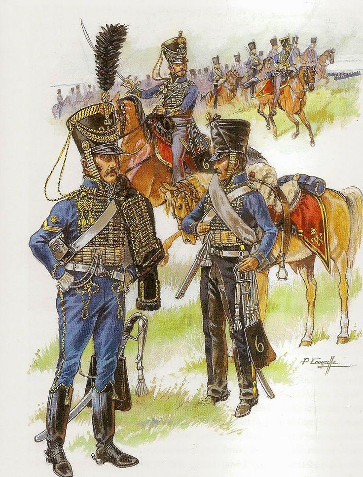 1815  Dutch Hussars.                        suzilove.com
