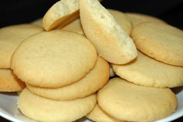Chicago Public School Cafeteria Butter Cookies. Photo by sloe cooker