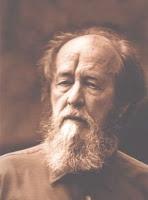 From Solzhenitsyn, Russell Kirk, and the Moral Imagination (phto of Aleksandr Solzhenitsyn.  http://www.imaginativeconservative.org/2012/03/solzhenitsyn-russell-kirk-and-moral.html#.ULbk84V1GOI