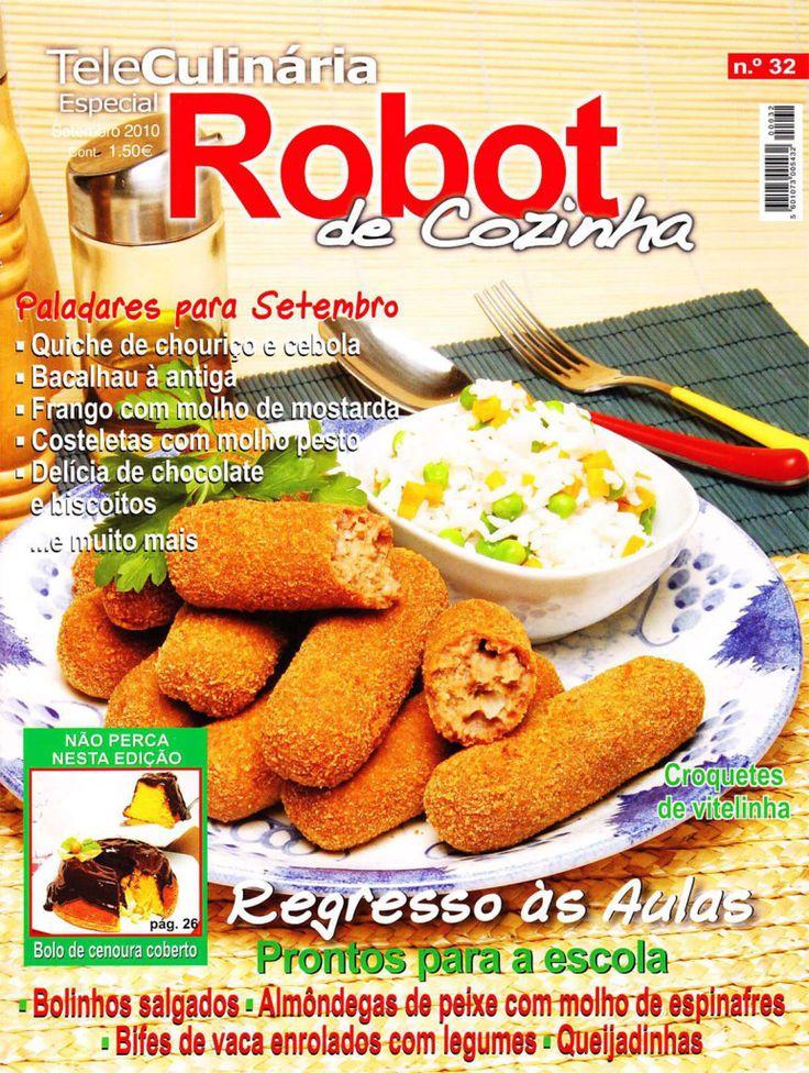 TeleCulinária Robot de Cozinha Nº 32 - Setembro 2010