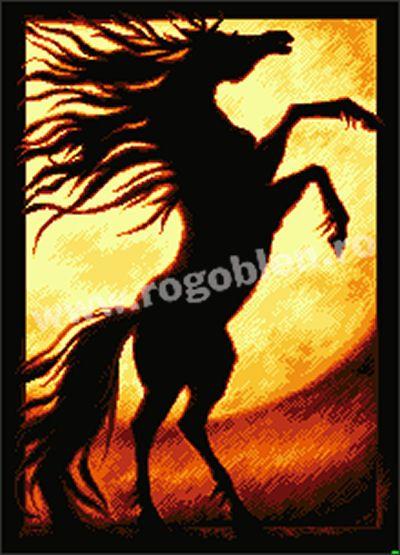 Cod produs: 5.51 Calul de foc Culori: 9 Dimensiune: 18 x 25 cm