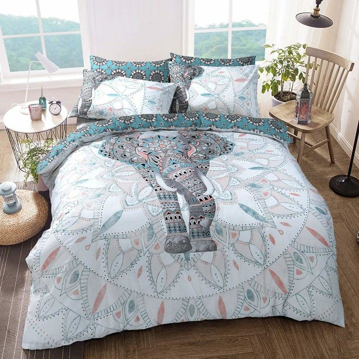 Elephant Bedding Duvet Sets, Queen Size Bed Sheets Argos
