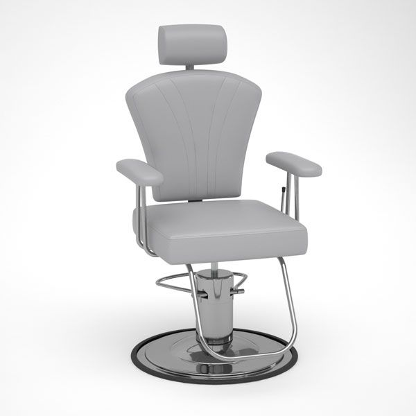 Bellagio All Purpose Chair In Haze Grey For Microblading Cosmetic