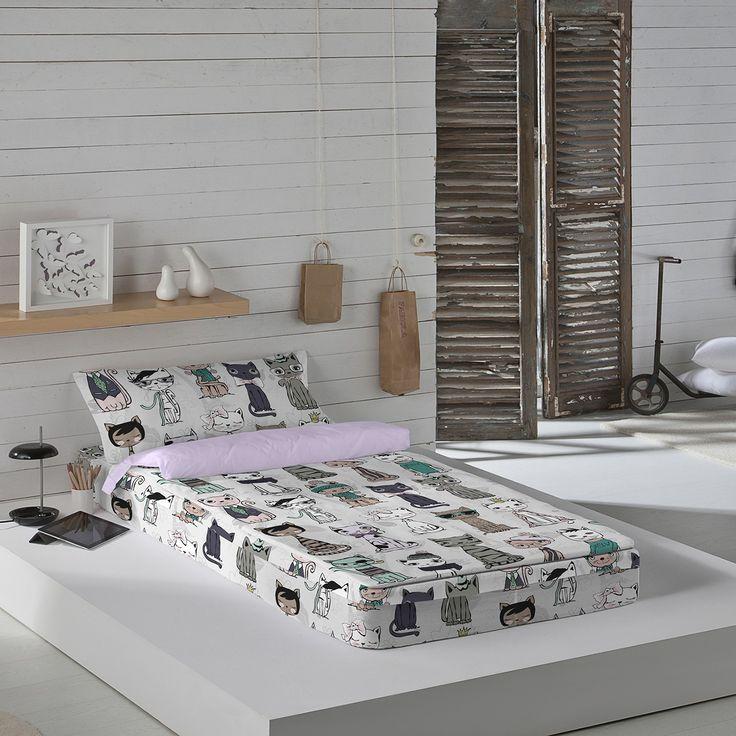 Saco Nórdico Infantil Celine , en color Lila, por tan solo 59,00€, disponible para camas de 90. Esto y mucho mas sólo en Costuratex