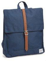 Herschel 'City' Backpack in blue.  Beach bag for men.