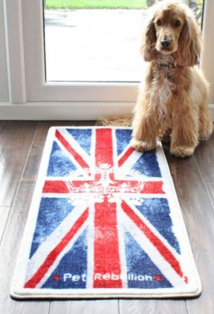 UNION JACK door mat and floor mat barrier rug from www.blissandbloom.co.uk