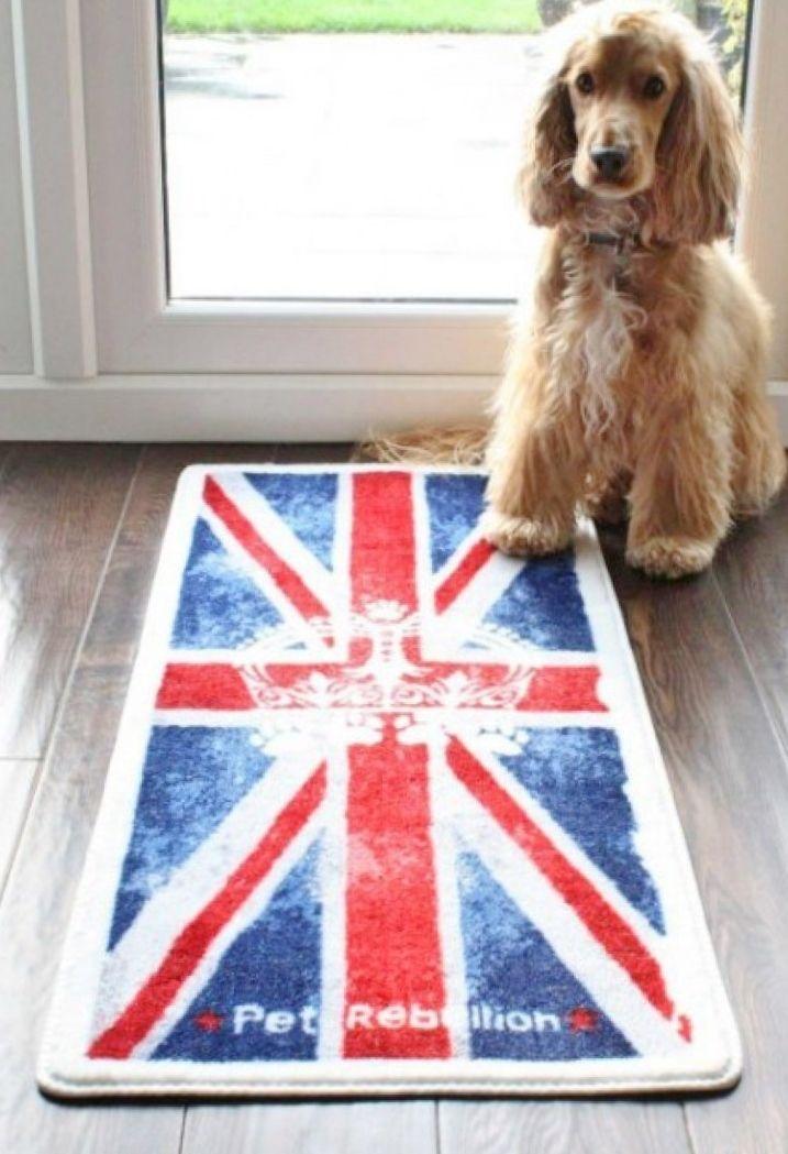 UNION JACK door mat and floor mat barrier rug from www.blissandbloom.co.uk