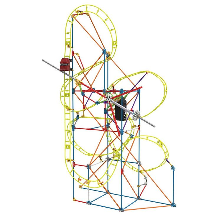 K'nex 305-pc. Clock Work Roller Coaster Building Set, Multicolor