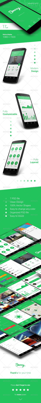 Smoog - Android L Mobile UI Kit