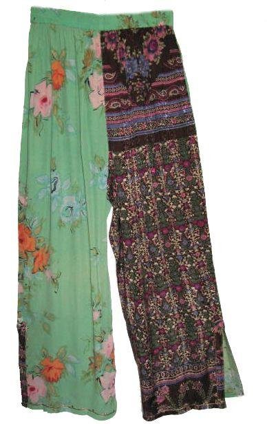 plus size bohemian clothing chic  | bohemian poncho wide leg pants set india…