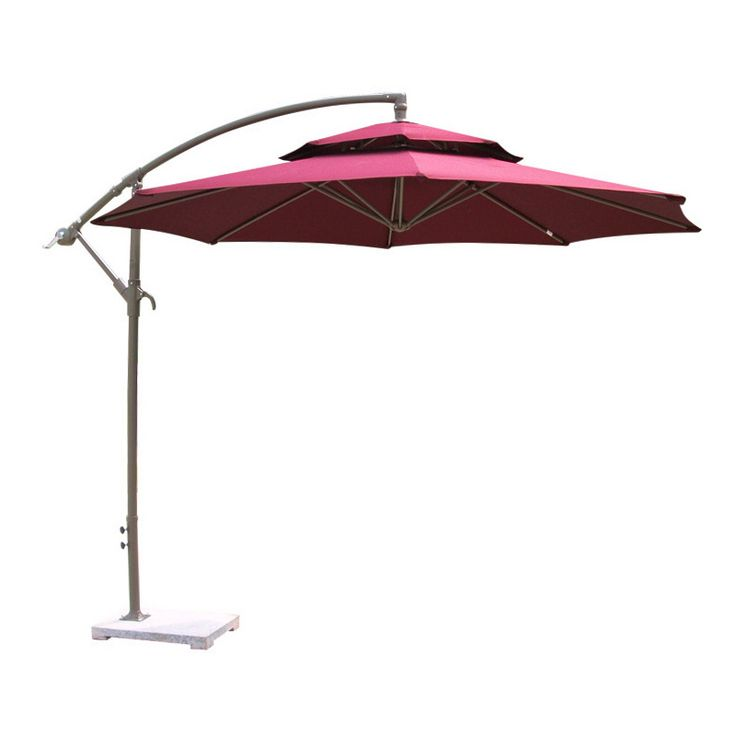 Sale 29% (441.68$) - 2.7M Outdoor Parasol Umbrella Sunshade Large Hanging  Sun Shading Shelter Round Shape Awning