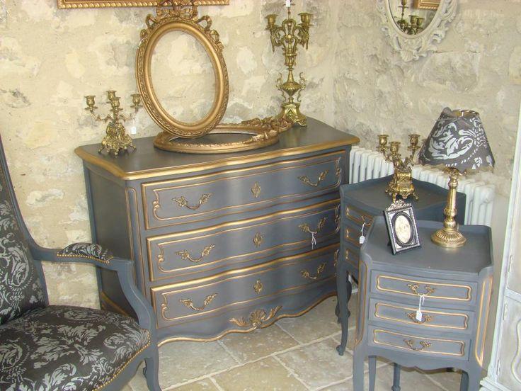 Les 25 meilleures id es de la cat gorie commode baroque for Bronze pour meuble de style