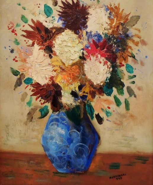 Flores, 1947 Cândido Portinari (Brasil, 1903-1962) óleo sobre tela Coleção Raymundo de Castro Maya