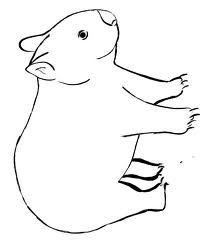wombat stew masks to print - Google Search