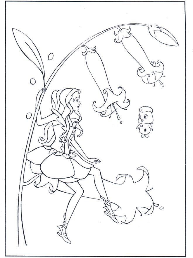 25 Beautiful Barbie Coloring Pages Your Kids Will Love