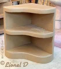 Resultado de imagen de tutoriel meuble de coin en carton