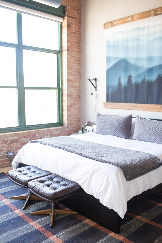 89 best ideas about art filled bedroom on pinterest for Bedroom design apartment therapy