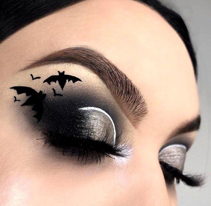 20 Ideas para maquillar tus ojos en Halloween sin tener que disfrazarte de  pies a cabeza | Maquillaje espeluznante, Maquillaje halloween ojos,  Maquillaje