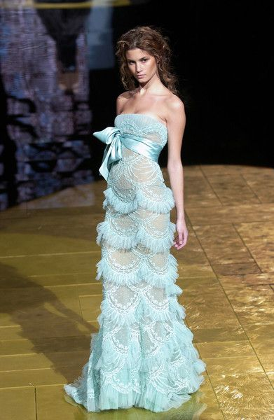 Wow!.....Elie Saab Spring 2006Baby Blue, Eliesaab, Woman Fashion, Elie Saab, Bridesmaid Dresses, Ellie Will Be, Something Blue, The Dresses, Haute Couture