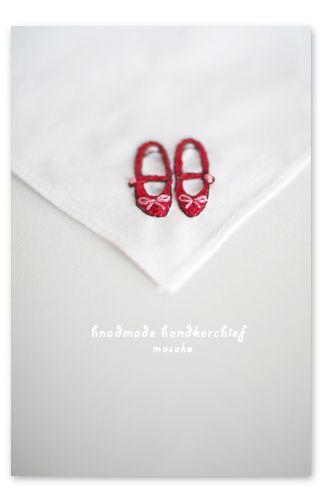 立体 // 赤い靴の刺繍| ウーマンエキサイト みんなの投稿