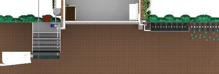 ETE Estação Tratamento Esgoto Residencial | Ecotelhado | Telhados Verdes, Jardim Vertical, Arquitetura Sustentável