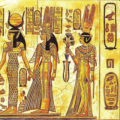 "2 Decoupage Paper Napkins Egypt 33x33 cm 13""x13"" 2 Pcs 175   eBay"