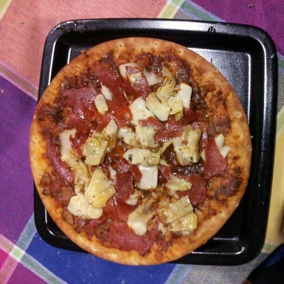 My vegan pizza :)