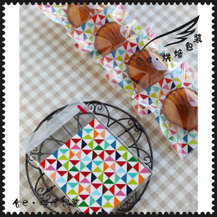 Купить товар50 шт./лот 10*10 см Красочно Сетки самоклеящиеся Пластиковые Пакеты Для Печенья, печенье в категории  на AliExpress. характеристика:материал: OPPразмер: 10X10 + 3 СМцвет: как вы видите на картинке в комплект поставки входят:50 шт./
