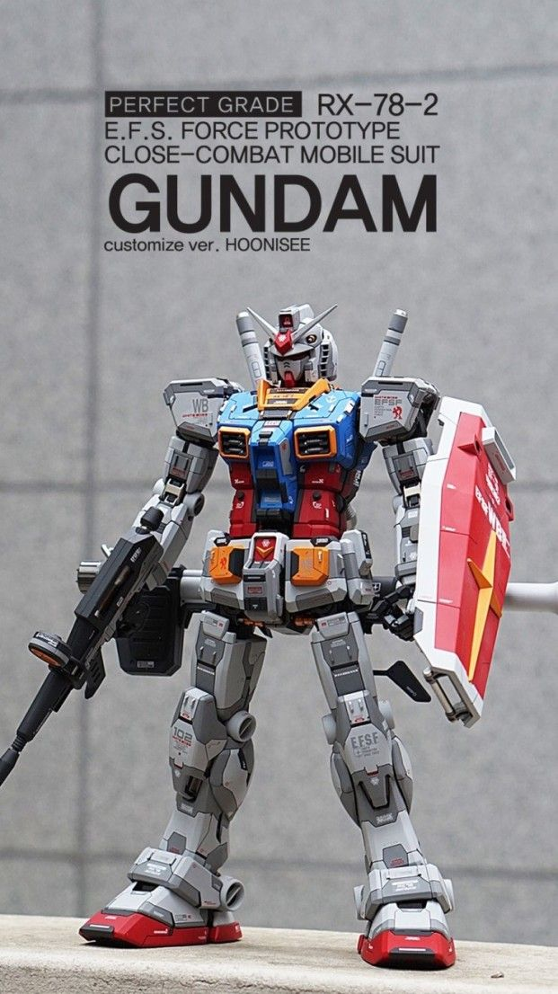 size 40 fc566 ad70c Custom Build: PG 1/60 RX-78-2 Gundam Ver. HOONISEE [Detailed ...