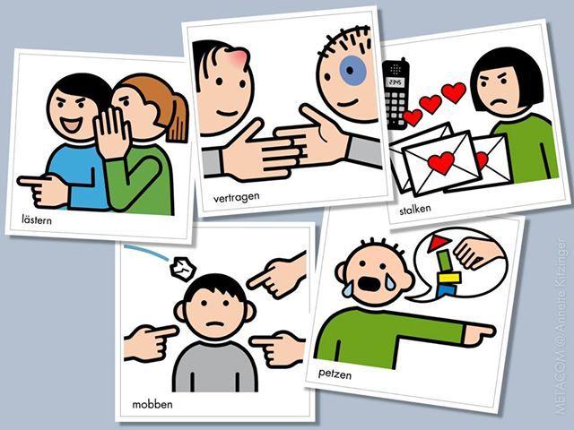 METACOM verbs – social behavior