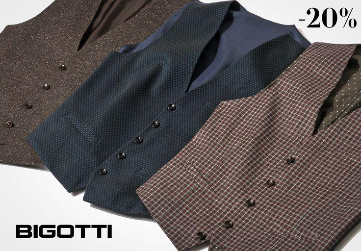 The #waistcoat – add a #dapper #touch to your #wardrobe  #Bigottiromania #moda #barbati #stil #veste #stofa #smart #trendy #stylish #mensfashion #menswear #mensclothing #mensstyle #garderoba #followus #sales #discounts #reduceri #promotie