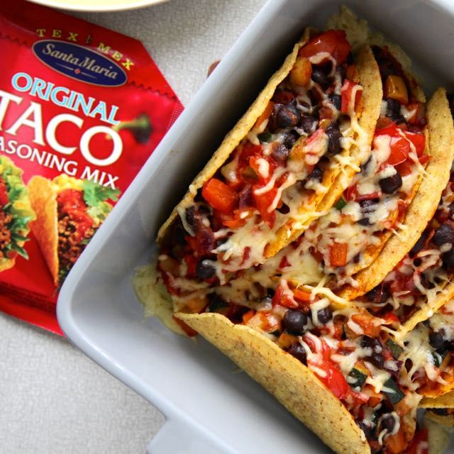 vegetarische taco's Santa Maria 3 lr
