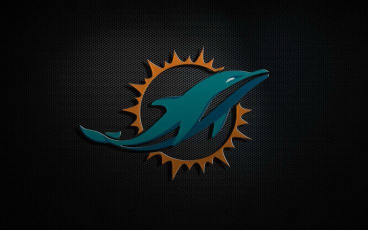 22 best nfl logos images on pinterest dolphins miami - Pink dolphin logo wallpaper ...