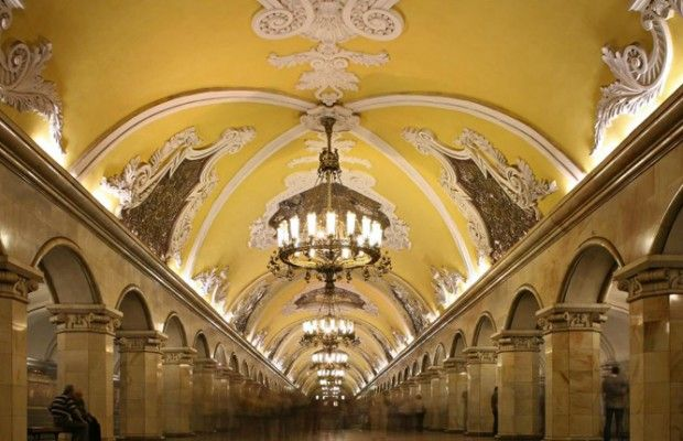 """World's Most Luxurious Underground Stations"""