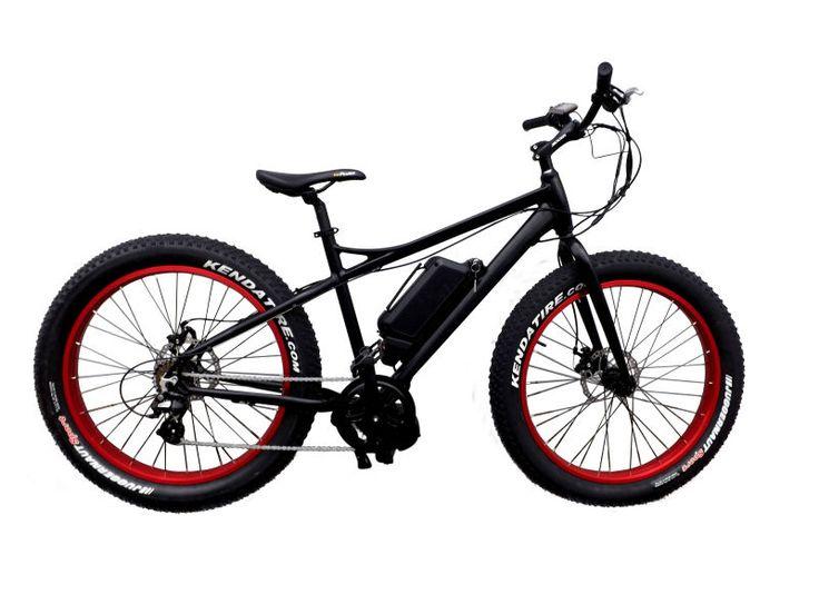 48V500W fast electric snow bike