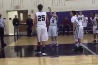 Special Needs Basketball Player Named Team Captain, Scores Basket