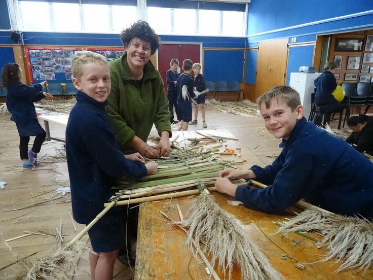 CameronP@Parkvale: Matariki Workshops Kite Making