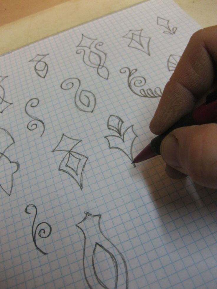 Charming Designs For Polymer Clay Stamps To Make. Great Idea To Draw Them Out On  Paper