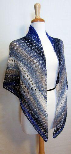 Easy Lace Shawl free pattern