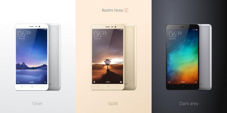 XIAOMI REDMI Note 3 5.5 inch Android 5.0 4G Phablet Helio X10 Octa Core Fingerprint ID 2GB + 16GB 13.0MP Rear Camera