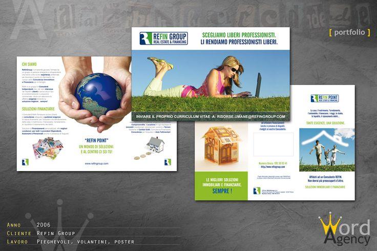 Refin Group - Pieghevoli, volantini e poster