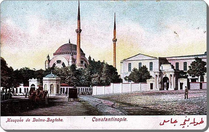 Dolmabahçe camii - 1900 ler