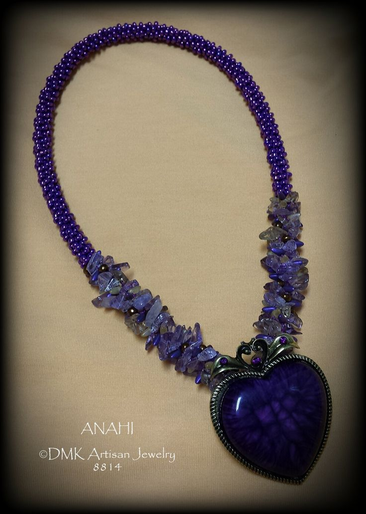 Kumihimo Ametrine Necklace