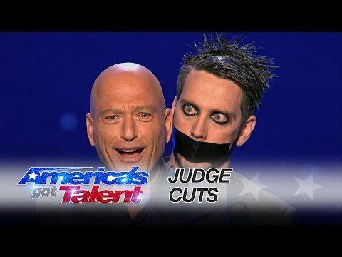 Video: Tape Face uses AGT judge Howie Mandel in hilarious mime act – GapBaGap